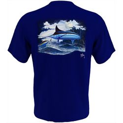 Guy Harvey Mens Night Time Swim Short Sleeve T-Shirt