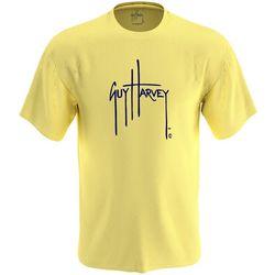 Mens Logo Solid Short Sleeve T-Shirt