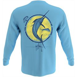 Guy Harvey Mens Marlin 1986 Long Sleeve T-Shirt