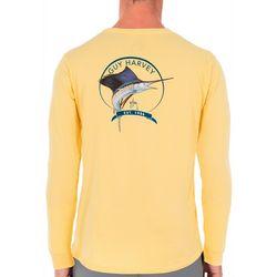 Guy Harvey Mens Core Sailfish Long Sleeve T-Shirt