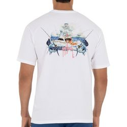 Guy Harvey Mens  Fishing Day T-Shirt