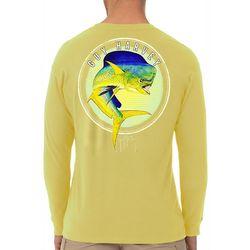 Guy Harvey Mens Mahi Long Sleeve T-Shirt