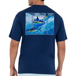 Guy Harvey Mens Offshore Tuna Short Sleeve T-Shirt