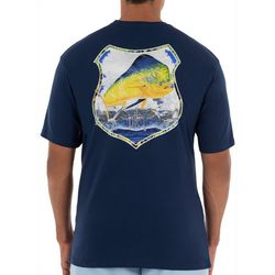 Guy Harvey Mens Mahi Patrol Short Sleeve T-Shirt