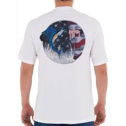 Guy Harvey Mens Stars & Sail Short Sleeve