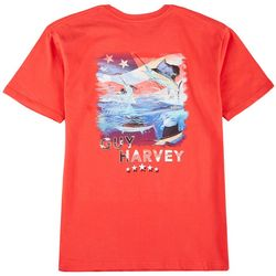 Guy Harvey Mens American Sailfish Short Sleeve T-Shirt