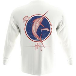Guy Harvey Mens Be Original Sailfish Long Sleeve T-Shirt
