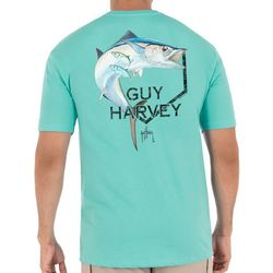 Guy Harvey Mens Kingfish Core Short Sleeve T-Shirt