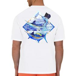 Mens Slam Catch Short Sleeve T-Shirt
