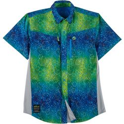 Loco Skailz Mens Conquest Molecular Mahi Fishing Shirt