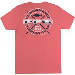 Columbia Mens PFG Logo Short Sleeve T-Shirt