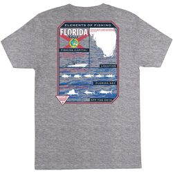 Columbia Mens PFG Florida Elements Short Sleeve T-Shirt