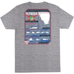 Mens PFG Florida Elements Short Sleeve T-Shirt