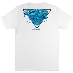 Columbia Mens PFG Bannon Solid Graphic T-Shirt