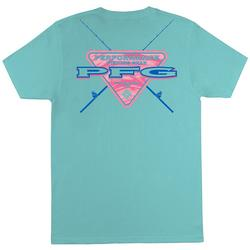 Mens PFG Mortimer Solid Graphic T-Shirt