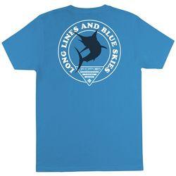 Columbia Mens PFG Long Lines & Blue Skies T-Shirt