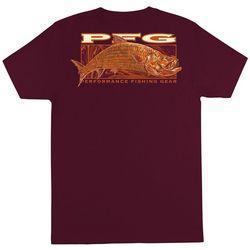 Columbia Mens PFG Candor Solid Graphic T-Shirt