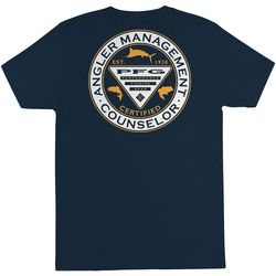 Columbia Mens Angler Management Counselor T-Shirt