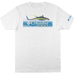Columbia Mens PFG Columbia Douglas Tuna T-Shirt