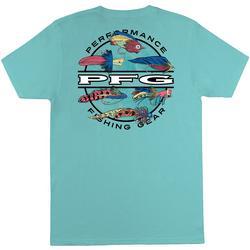 Columbia Mens PFG Rover Graphic Short Sleeve T-Shirt