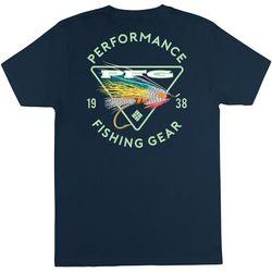 Columbia Mens Fishing Lure Short Sleeve T-Shirt