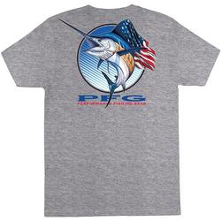 Mens Americana Sailfish Short Sleeve T-Shirt