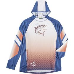 Mens Cobia Tournament Raglan Hoodie