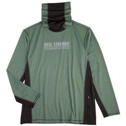 Mens Reel-Tec Solid Neck Shield  T-Shirt