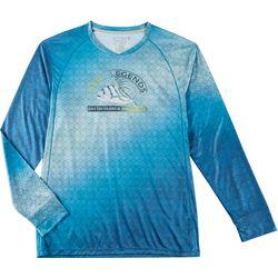 Mens Reel-Tec Roosterfish Long Sleeve T-Shirt