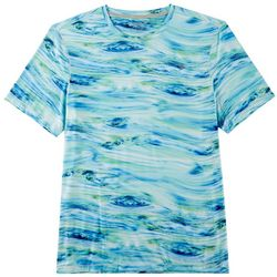 Reel Legends Mens Keep It Cool Waterline T-Shirt