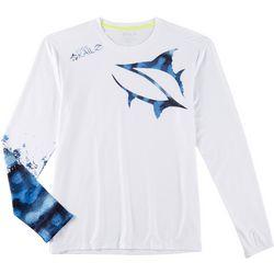 Loco Skailz Mens Mackerel Long Sleeve T-Shirt