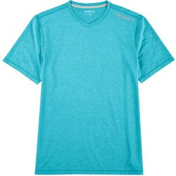 Reel Legends Mens Freeline Heathered Short Sleeve T-Shirt