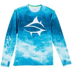 Loco Skailz Mens Ocean Current Long Sleeve T-Shirt