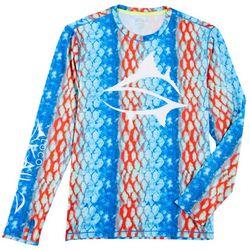 Mens Parrot Fish Long Sleeve T-Shirt