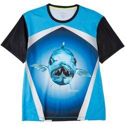 Loco Skailz Mens Second Skin Barracuda Short Sleeve T-Shirt