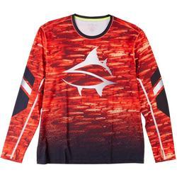 Mens Second Skin Swarm Fire Long Sleeve T-Shirt