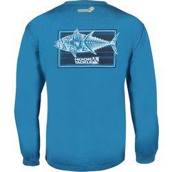 Hook and Tackle Mens Terrible Tuna Tech Long Sleeve T-Shirt