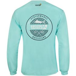 Hook and Tackle Mens Porthole Tech Long Sleeve T-Shirt