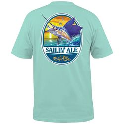 Salt Life Mens Sailing Ale Pocket Crew T-Shirt