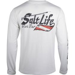 Mens SLX Salty Dive Bar Long Sleeve T-Shirt