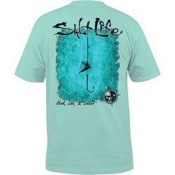 Salt Life Mens Hook, Line & Sinker T-Shirt