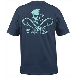 Mens Skull and Hooks Pocket T-Shirt