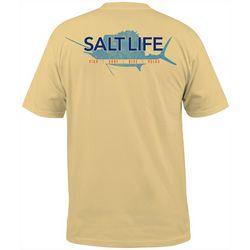 Salt Life Mens Saltwater Sport Pocket T-Shirt
