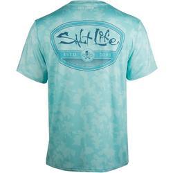 Mens SLX Mission Camo Performance T-Shirt
