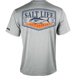 Mens SLX Tuna Badge Performance Fishing T-Shirt