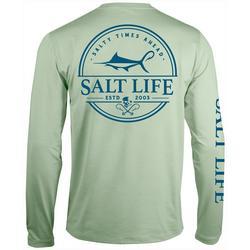 Mens SLX Salty Times Long Sleeve Fishing T-Shirt