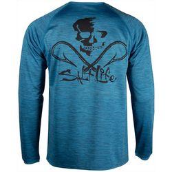 Salt Life Mens SLX Seaway Long Sleeve T-Shirt