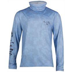 Salt Life Mens SLX Mission Aqua Shield Long Sleeve T-Shirt