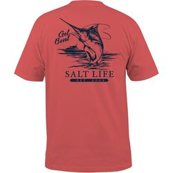 Salt Life Mens Get Bent Pocket T-Shirt