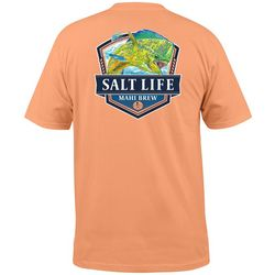 Salt Life Mens Mahi Brew Pocket T-Shirt